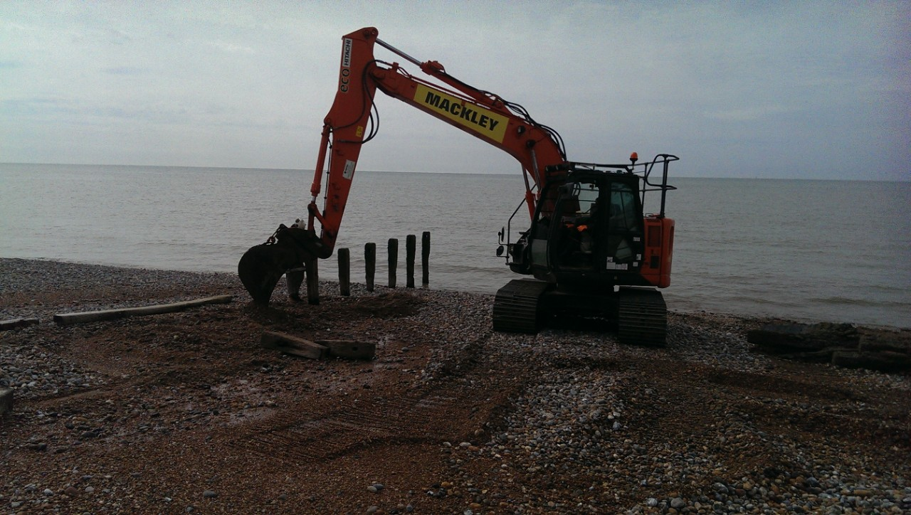 groyne removal cooden beach bexhill, East Sussex